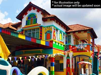 Nuri Kindergarten Malaysia Building Illustrations Nuri Kindergarten Johor Bahru